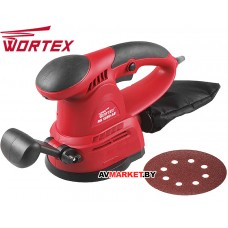 Шлифмашина эксцентриковая WORTEX RS 1250AE в кор. RS1250AE01311 Китай