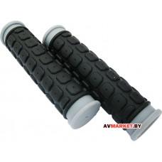 Грипсы (ручка на руль) HW 145267 L-125(чёрно-серый