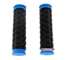 Грипсы (ручка на руль) HW 145267 L-125(черно-синий