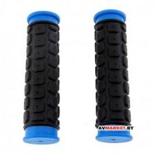 Грипсы (ручка на руль) HW 145267 L-125 черно-синий 1633