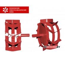 Грунтозацепы (комплект) ф 350/270 мм, шир. 160 мм, 6-гр. втулка 26 мм, 3 обруча ВРМЗ (ASILAK SL-93L;