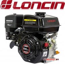 Двигатель бензиновый LONCIN G200F 6,5л.с цилиндр вал Д20мм G200FA Китай