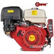 Двигатель бензиновый Skiper 13 л.с. N188F/E (K) шпонка Д-25мм с электростартеромКитай
