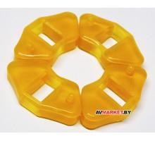 Демпферные резинки к-т (литое колесо) Delta силикон Китай