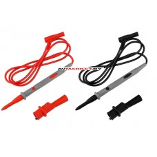 Щупы для мультиметра DEKO DKW02 2 шт L= 89,5 см 105 см с щупами 2000 В макс. ток 20 А Китай 041-0230
