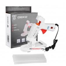 Пистолет термоклеевой DECO DKGG100 SET4 100 Вт работа Китай 063-4971
