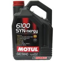 Масло Motul 5W40 (4L) 6100 SYN-NERGY масло моторное ACE Германия