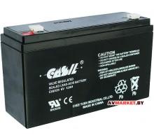 Аккумулятор CASIL 6в 12 А (гель) 151*50*94мм CA 6120
