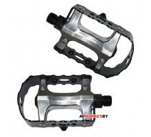 Педали (комплект) платформенный FP-971 99*79мм 9/16 серебр 1PE920000100 Китай 3876