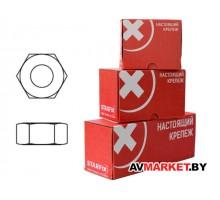 Гайка M6 шестигр цинк кл.пр.5,8 DIN934 (300 шт в карт уп STARFIX SMC1-47274-300
