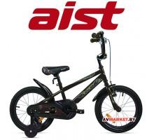 """Велосипед 16"""" детский AIST PLUTO черный"""