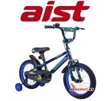 "Велосипед 18"" детский AIST PLUTO синий"
