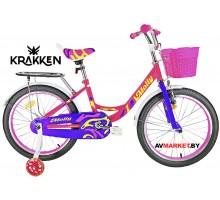Велосипед KRAKKEN Molly 16 розовый 2020 4810310007172