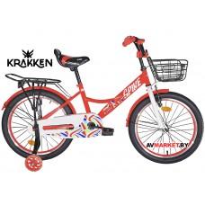 Велосипед KRAKKEN Spike 16 красный 2020 4810310007219