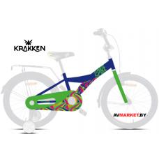 Велосипед KRAKKEN Spike 16 синий 2020 4810310007226