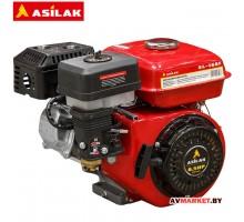 Двигатель 6,5л.с бензиновый (цилиндрический вал диам. 19мм) арт SL-168F ASILAK (Китай)