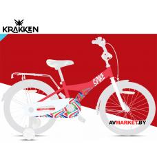 """Велосипед KRAKKEN Spike 20"""" красный 1 ск. 2020  РБ 4810310007233"""
