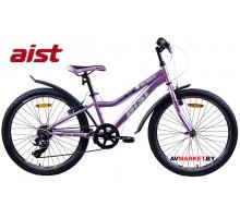 """Велосипед 24""""двухколесный для подростков Aist Rosy Junior 1.0 сиреневый 4810310005338 РБ"""