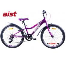 """Велосипед 24"""" двухколесный для подростков Aist Rosy Junior 1.0 фиолетовый 4810310005321 РБ"""