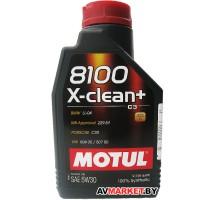 Масло моторное MOTUL 5W30 1L 8100 X-CLEAN+ ACEA 106376