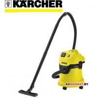 Пылесос сухой и влажной уборки Karcher Керхер WD 3 *EU-II 1.629-801.0 Румыния