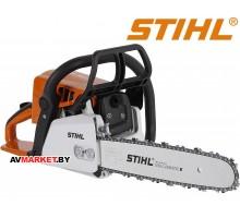 Бензопила STIHL MS 250 (шина и цепь 40 см, защитный кожух, мини колун AX6S, перчатки) Германия