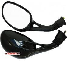 Зеркала VIG (чёрные В-8)(B-107) скутер