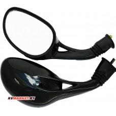Зеркала VIG чёрные В-8 B-107 капля скутер Y125 M8 Китай