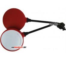 Зеркала круглые (красные черные) ZX2565 SLW 1104-88 Китай Ява