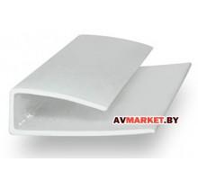 Торцевой профиль для поликарбоната Толщина: 4мм Длина: 2,1 м