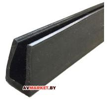 Уплотнитель резиновый для торцов Длина: 1м
