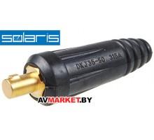 Разъем сварочный  35-50мм2 DX50 Solaris (папа) WA-2474 Китай