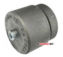 Насадка 25мм для сварочного аппарата для полимерных труб серый тефлон PocTypПласт 10031