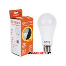 Лампа светодиодная A60 Стандарт 20 Вт 170-240В Е27
