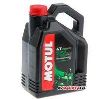 Масло Motul 5100 4T 10W40 4 л моторное+Очиститель