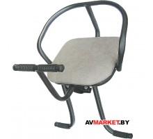 Седло (сиденье) велос. детское переднее на раму