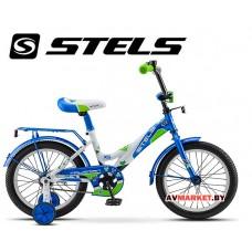 Велосипед 16 STELS TALISMAN голубой