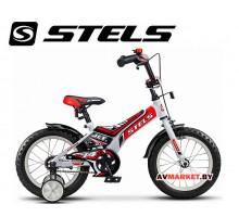 Велосипед 16 STELS JET бело красный