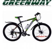 Велосипед GREENWAY 275М031 27,5 горный для взрослых зеленый