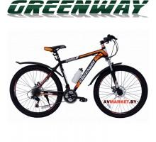 Велосипед GREENWAY 275М031 27,5 горный для взрослых оранжевый