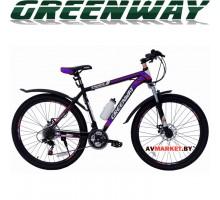 Велосипед GREENWAY 275М031 27,5 горный для взрослых синий