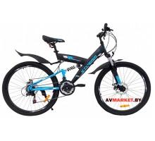 Велосипед STREAM ELASTIC 26 горный для взрослых голубой