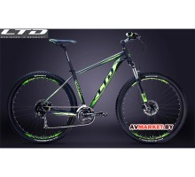 "Велосипед LTD Gravity 970L 29"" черно-салатовый YS727 MATT"