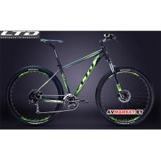 """Велосипед LTD Gravity 970XL 29"""" черно-салатовый YS727 MATT"""