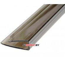 Торцевой профиль 6мм бронза 2100 мм