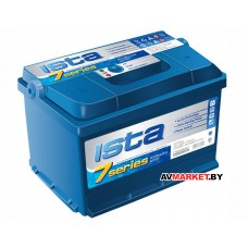 Аккумуляторная батарея ISTA 6CТ-80А2E 7 Series евро Украина 720/760Ф