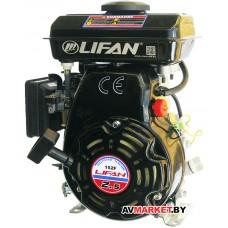 Двигатель Lifan 152F (2,5л.с.15мм вал) бензиновый для виброплиты (вал 15мм) Китай
