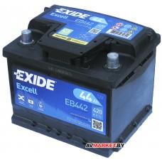 Аккумулятор EXIDE Excell EB442 44Ah 420A R+ 207*175*175 GP012837951