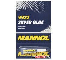 Клей мгновенный Mannol 9922 Super Glue 2 г.