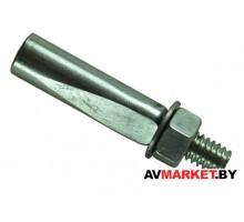 Клин (ремонт) шатуна вело 9,8*40мм сталь хром Китай VAL-19964-11